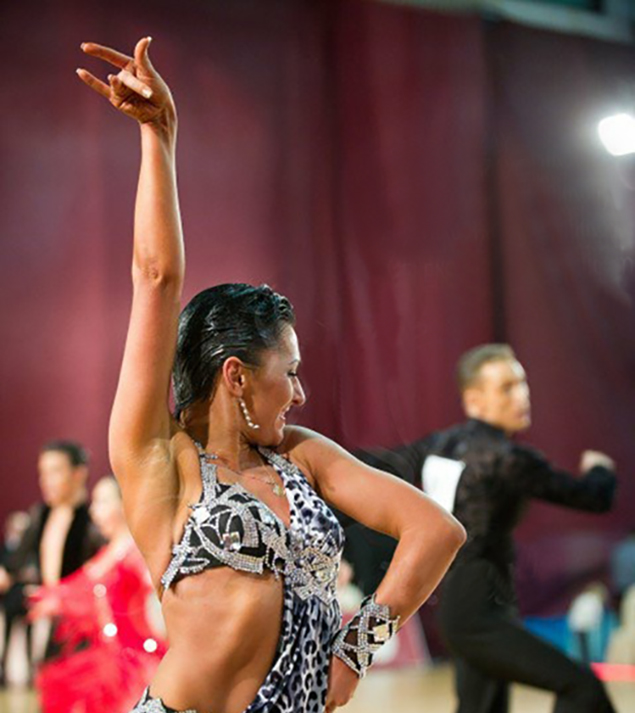 Star Dance School Latin Dance Instructor, Katerina Stolyarenko
